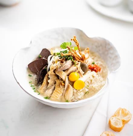 Borbor Chicken at Sombok Restaurant