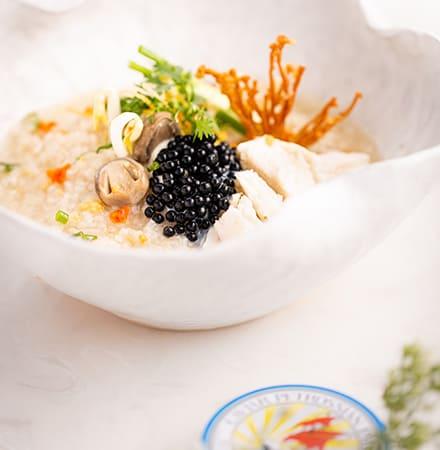 Borbor Petrossian Caviar at Sambok Restaurant