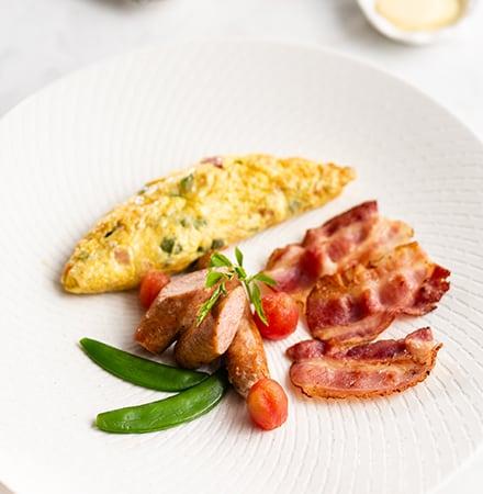 Western Breakfast at Sombok Restaurant