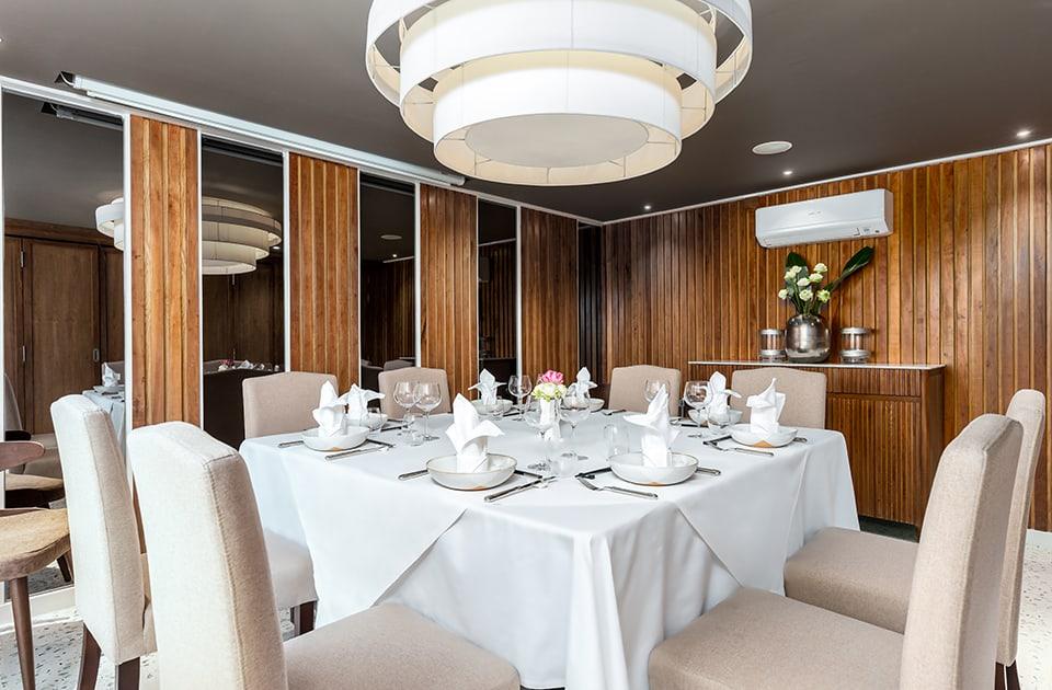Private Dining Room in Sombok Restaurant Phnom Penh