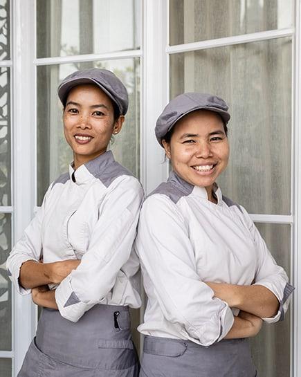 Chef Kim San Twin