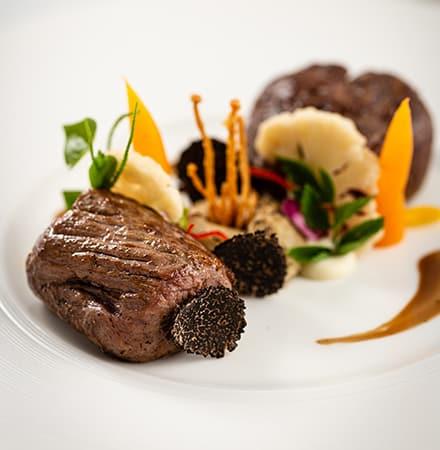 Grilled Prime Rib Eye Steak
