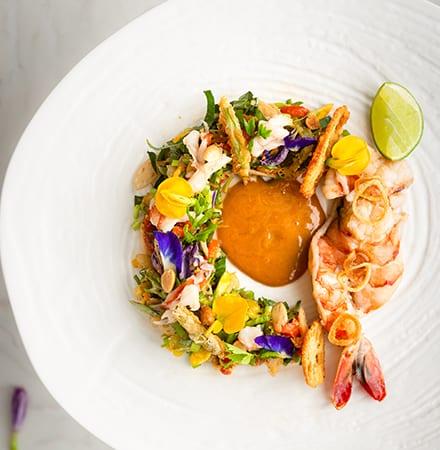 King Prawn and Crab Salad