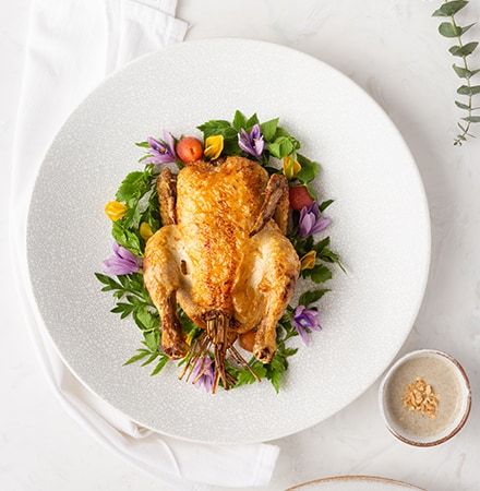 Roasted French Yellow Chicken